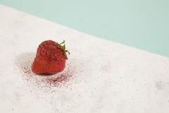 Pretty strawberry sequin Stock Photos