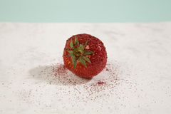 Pretty strawberry sequin Royalty Free Stock Photos
