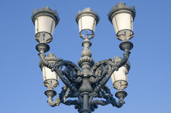 Pretty streetlight in the street Royalty Free Stock Photo