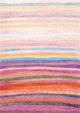 Pretty Stripes Background. Crayon work with soft colours Stock Images