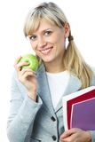 Pretty student Stock Image