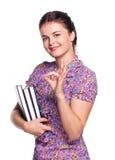 Pretty student-girl Stock Image