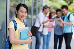 Pretty student Stock Images