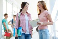 Pretty students Stock Photo