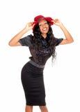 Pretty tall black woman. Stock Photography