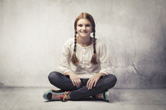 Pretty teen Royalty Free Stock Photo