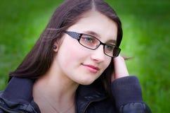 Pretty teen girl Stock Photos