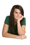 Pretty Teen Girl Stock Photo