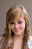 Pretty teen girl. Smiling (sorta Stock Image