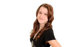 Pretty teen girl portrait Royalty Free Stock Photos