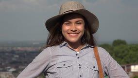 Pretty Teen Girl Smile stock footage
