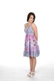Pretty Teen In Dress Stock Photos
