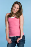 Pretty Teen Smiling Royalty Free Stock Image