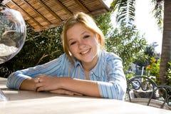 Pretty teenage girl Stock Image