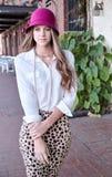 Pretty Teenage Model Stock Photography