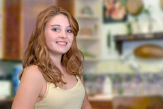 Pretty Teenager Royalty Free Stock Image