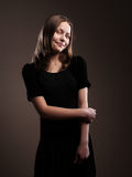 Pretty teenager girl Royalty Free Stock Photography