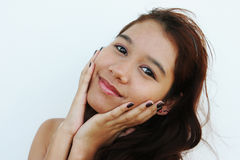 Pretty teenager from Thailand Royalty Free Stock Photos