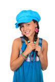 Pretty ten year old girl Royalty Free Stock Photos