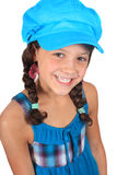 Pretty ten year old girl Stock Photo