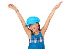 Pretty ten year old girl Royalty Free Stock Photo