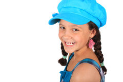Pretty ten year old girl Stock Images