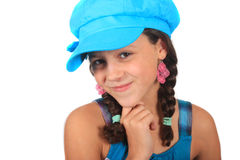 Pretty ten year old girl Royalty Free Stock Image