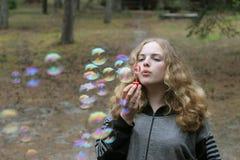Pretty tenager girl Stock Photo