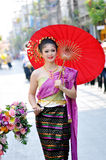 Pretty thai girl Stock Image