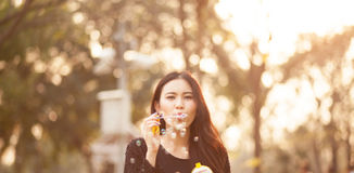 Pretty Thai girl Stock Photography