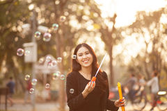 Pretty Thai girl Royalty Free Stock Photography