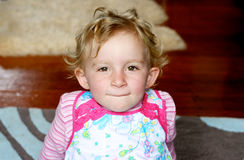 Pretty toddler. Royalty Free Stock Photography