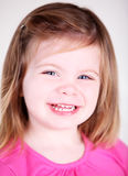 Pretty Toddler girl laughing Stock Photos