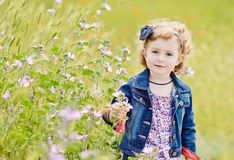 Pretty toddler Stock Photography