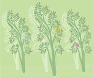 Pretty Tree Design Stock Photography