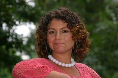 Pretty tunisian woman Stock Images