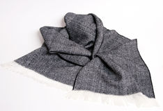 Pretty tweed pattern scarf Stock Image