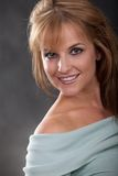 Pretty twenties caucasian blonde woman Royalty Free Stock Images
