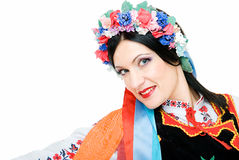 Pretty ukrainian Royalty Free Stock Images