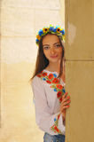 Pretty ukrainian girl portrait Royalty Free Stock Images