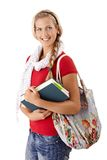 Pretty university girl Stock Photography