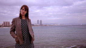 Pretty urban woman Stock Photography