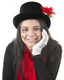 Pretty Valentine Joker Stock Images