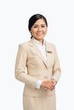 Pretty Vietnamese business lady Stock Photos