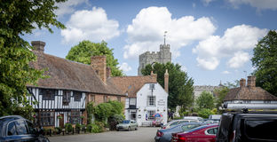 The Pretty Village of Chilham Royalty Free Stock Images