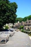 Pretty village street, Castle Combe. Stock Photography