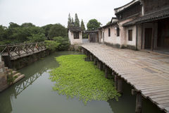 Pretty water town Wuzhen Stock Photography