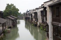 Pretty water town Wuzhen Stock Photos