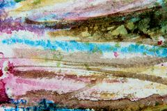 Pretty Watercolor Abstract 12 Stock Photos