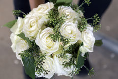 Pretty Wedding Bouquet Royalty Free Stock Photography